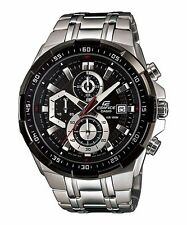 EFR-539D-1A Black Blue Casio Men's Watch Edifice Brand-New 100M Chronograph