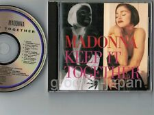 MADONNA Keep It Together JAPAN 7-track CD w/6-p P/S BOOKLET WPCP-3200 Free S&H