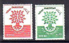 Pakistan Michelnummer 112 - 113  postfrisch ( intern: 30 )