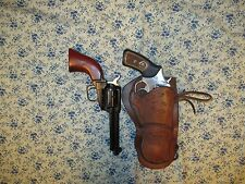 Western Cowboy Single Loop Holster Ruger SP101 357/22 4 in and 22LR SA 43/4 in.