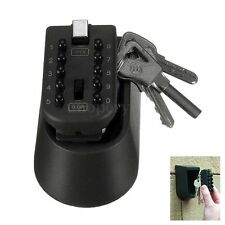 Outdoor Combination Hide Key Safe Lock Box Storage Wall Mount Mounted Security
