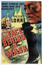 THE FACE BEHIND THE MASK 1941 (DVD) DRAMA PETER LORRE FILM NOIR