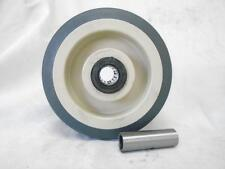 "6"" x 2"" Thermoplastic Rubber Caster Wheel 500 lbs"