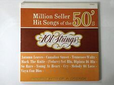 Million Seller Hit Songs of the 50's 101 Strings LP Records Vinyl Album S-5037
