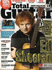 TOTAL GUITAR UK 230 August 2012 Ed Sheeran Learn to Play Cream Iggy Pop TAB + CD