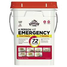 Augason Farms Emergency 4-Person 72-Hour Emergency Food Supply Pail Kit 23 lbs