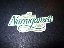 NARRAGANSETT Gansett STICKER decal craft beer brewing brewery