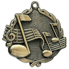 Gold Music Award Medal with Neck Ribbon