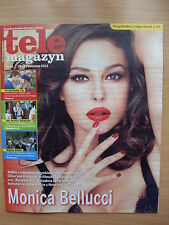 Tele Magazyn 16/2013 front Monica Bellucci in. Clive Owen