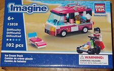 Ice Cream Truck BricTek Imagine Construction Block Building Brick Toy 12028