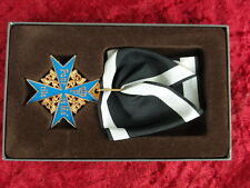 Order Cross Pour Le Mérite Blauer Max Prussia 1740 with case