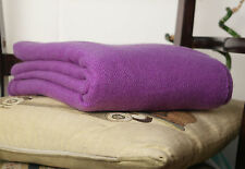 Cashmere Wool Blankets Throws 100% Hand Woven