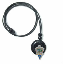 FLORIDA GATORS PENDANT ONYX CORD NECKLACE 24312 college sports jewelry