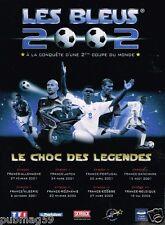 Publicité advertising 2001 Coupe du Monde Equipe de France