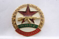 Hungary Hungarian MHSz Defense of the Homeland Gold Badge Civil Defense Medal