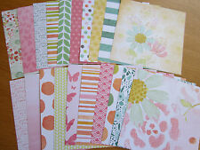 """Recollections 'BLOSSOMS & BLISS' - 20 sheets (6x6"""")  SET 1"""