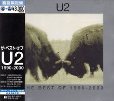 U2 Best Of 1990-2000 +1 RARE JAPAN LTD 2 CD + DVD OBI UICI-9003