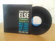 Cannonball Adderley,Miles Davis,Somethin Else,BLUE NOTE 1595,W63RD,Vinyl Jazz LP