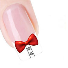 Nail Art Sticker Water Decals Transfer Stickers Decorative Art Bow Ties (DX1324)