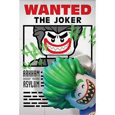 Lego Batman - Wanted The Joker POSTER 61x91cm NEW * Animation Arkham Asylum