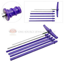 Twist n Curl Wire Wrapping Twisting Shaping Mandrels Kit Jewelers Tool Coiling
