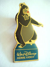 PINS BD COMICS WALT DISNEY BALOO OURS BEAR LIVRE JUNGLE HOME VIDEO