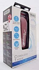 Wahl Professional #8591 Cordless Designer Clipper Trimmer 90 Minute Run Time
