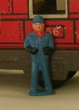 Railroad Engineer or driver, O scale model train layout figure, Reproduction
