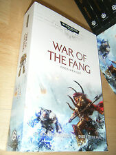 Chris Wraight WAR OF THE FANG 1st/PB SIGNED MINT Warhammer 40K Space Wolves