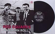 Red Squares - Modern Roll LP Names Feederz Phoenix Arizona Punk Bloodstains KBD