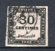 """FRANCE STAMP TIMBRE TAXE N° 6 """" CHIFFRE TAXE 30c NOIR """" OBLITERE TB SIGNE  P569"""