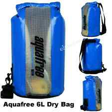 Aquafree 6L Dry Bag with Window of PVC Film Waterproof Watersport/Fishing/Campin