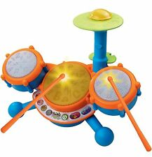 Kids Drum Set Electronic First Pad Electric Toddler Toy Beginner Instrument New