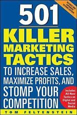 501 Killer Marketing Tactics to Increase Sales, Maximize Profits, and Stomp...