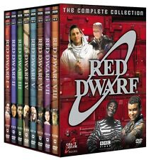 Red Dwarf Complete DVD Set Collection Season Series Episodes TV All Show BBC Lot
