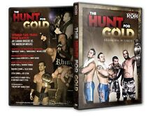 ROH Wrestling: The Hunt for the Gold DVD, Silas Young Steve Corino Bobby Fish