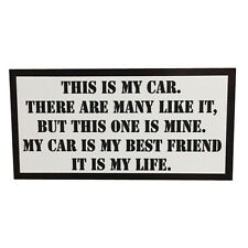 This is my Car Rifleman's Creed sticker USMC Full Metal Jacket by Seven 13
