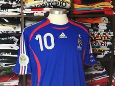 FRANCE home WorldCup 2006 shirt - ZIDANE #10-Real Madrid-Juventus-Maillot-Jersey