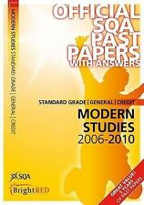 Modern Studies Standard Grade (G/C) SQA Past Papers 2010 Scottish Qualifications