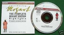 Mozart The Complete Mozart Edition Highlights CD