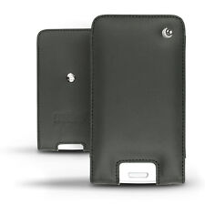 Noreve Black Leather Pouch Case Cover for Nokia Lumia 920, BlackBerry Z10