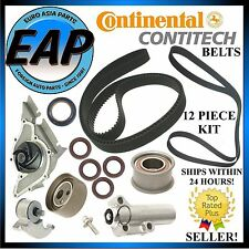 For 1998-2001 Audi A4 A6 2.8L CRP Timing Serp Belt Water Pump Tensioner Kit NEW