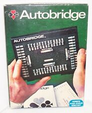 GRIMAUD AUTOBRIDGE TO PLAY BY YOURSELF GAME IN FRENCH  - VERY GOOD CONDITION
