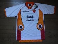 AS Roma 100% Original Jersey Shirt L 1997/98 Away Still BNWT NEW Diadora rare