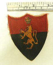 Original Military WWII H.Q Middle East Land Forces Cloth Formation Badge (3543)