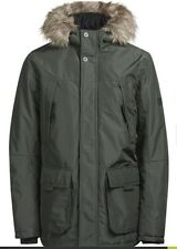 Jack & Jones Padded Parka Coat Medium Mens Bnwt