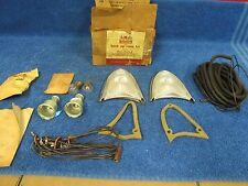 1956 FORD ALL CUSTOM AND MAINLINE RANCH WAGONS  BACKUP LIGHT KIT  NOS FORD  416