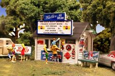Monroe Models N Scale Trains 9209 Belles Ice Cream Stand Model Railroad Kit