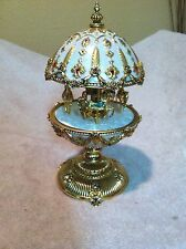 The Faberge Imperial Carousel Egg Franklin Mint Collection Rare