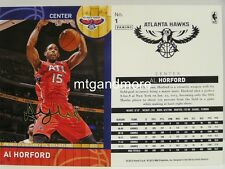 Panini NBA (Adrenalyn XL) 2013/2014 - #001 Al Horford - Golden Foil Signature